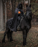 The Headless Horseman Homemade Costume