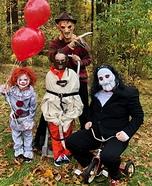 The Horror Family Homemade Costume