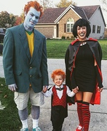 The Hotel Transylvania Crew Homemade Costume