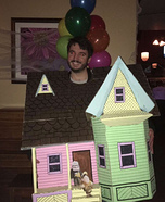 The House from the Movie Up Homemade Costume