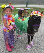 The Hula Girls Homemade Costume