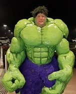 The Hulk Homemade Costume