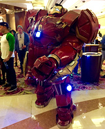 The Hulkbuster Homemade Costume