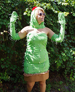 The Human Cactus Homemade Costume