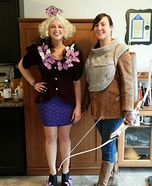 The Hunger Games Katniss and Effie Homemade Costume