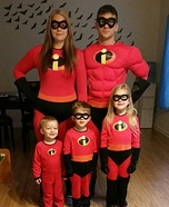 The Incredible Family Costume