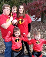 The Incredible Family Homemade Costume