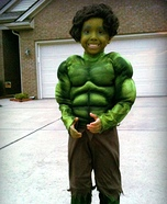The Incredible Hulk Costume for Boys