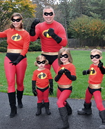 The Incredibles Homemade Costume