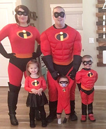 The Incredibles Family Costume