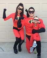 The Incredibles Family Costume Idea