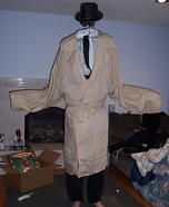 The Invisible Man Costume DIY