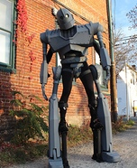 Iron Giant Homemade Costume