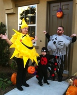 The Itsy Bitsy Family Homemade Costume