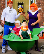 The Jetsons Family Homemade Costume