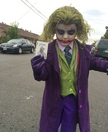 The Joker Costume Idea for Children