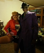 The Joker and Harley Quinn Homemade Costume