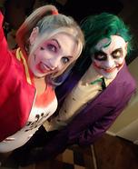 The Joker and Harley Quinn Homemade Costume