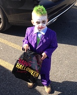 The Joker Baby Costume