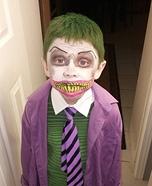 The Joker Boy Homemade Costume