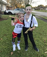 The Joker & Harley Quinn from Suicide Squad Homemade Costume