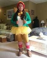 The Keebler Elf Homemade Costume