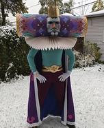 The King Of All Cosmos Homemade Costume