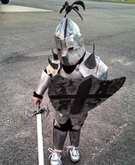 The Knight Homemade Costume