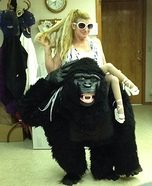 The Lady and Kong Homemade Costume