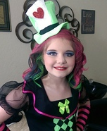 Halloween costume ideas for girls: The Lady Mad Hatter Homemade Costume