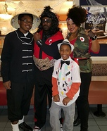 The Last Dragon Family Homemade Costume