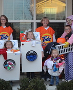 The Laundry Crew Family Costume Theme