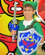The Legend of Zelda Link Homemade Costume