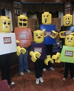 The Lego Family Homemade Costume