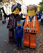 The Lego Family Homemade Costume