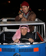 The Libyans from Back to the Future Homemade Costume