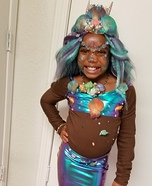 The lil Mermaid Homemade Costume