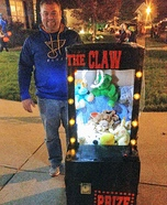 The Lion in the Claw Machine Homemade Costume