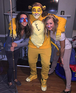 The Lion King Characters Group Costume