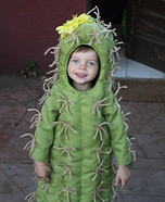 The Little Cactus Homemade Costume