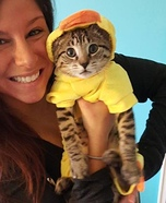 The Little Ducky Cat Costume