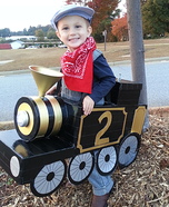 The Little Halloween Train Homemade Costume