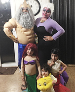 The Little Mermaid Homemade Costume