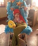The Little Mermaid Baby Costume DIY