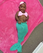 The Little Mermaid Baby Homemade Costume