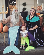 The Little Mermaid Crew Homemade Costume