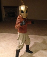 The Little Rocketeer Costume