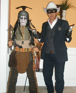 The Lone Ranger and Tonto Homemade Costume
