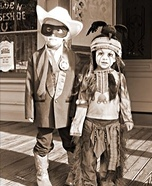 The Lone Ranger and Tonto DIY Homemade Costumes