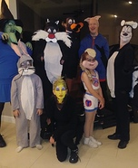 The Looney Tunes Homemade Costume